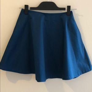 kate spade Saturday blue circle skirt
